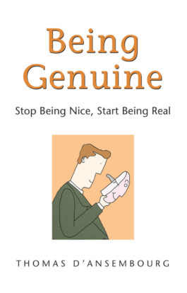 Being Genuine front cover