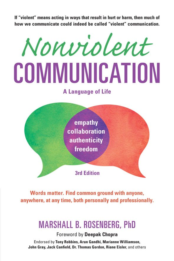 Nonviolent-Communication A Language of Life front cover