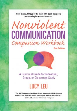 Nonviolent Communication Work Book front cover