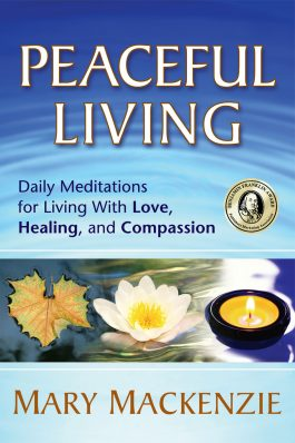 Peaceful Living front cover