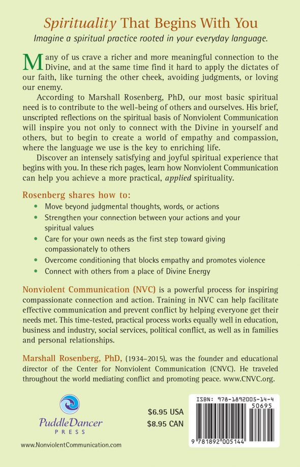 Practical Spirituality back cover