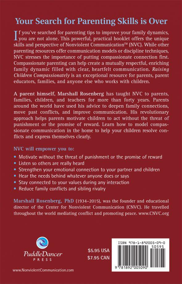 Raising Children Compassionately Back Cover