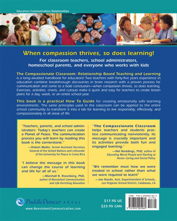 The Compassionate Classroom back cover