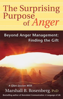 The Surprising Purpose of Anger front cover