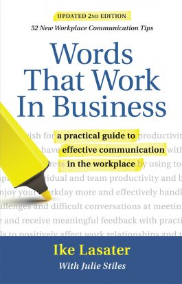 Words That Work In Business front cover
